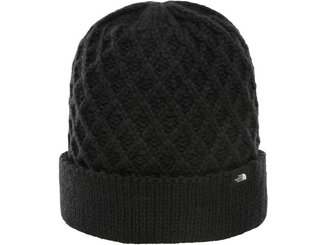 The North Face Shinsky Muts met klep, tnf black criss cross stitch